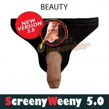 Screeny Weeny Beauty версия 5.0. - + синтетическая моча + фальш пенис